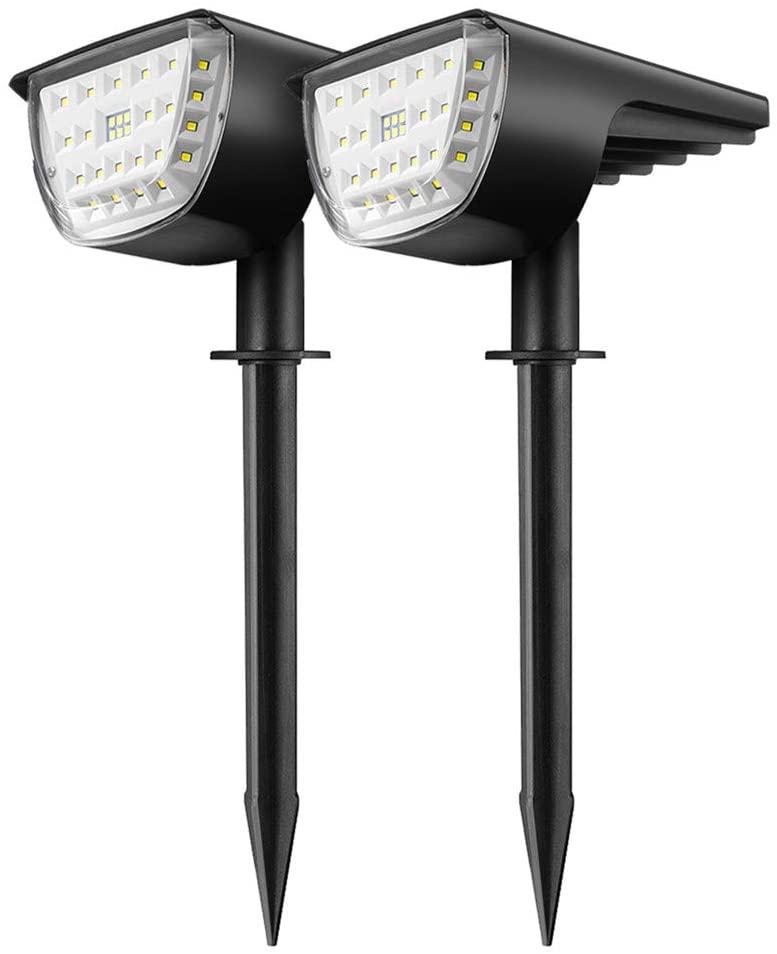 Bild zu KINGSO Garten Solarleuchten mit 32 LEDs für 16,79€