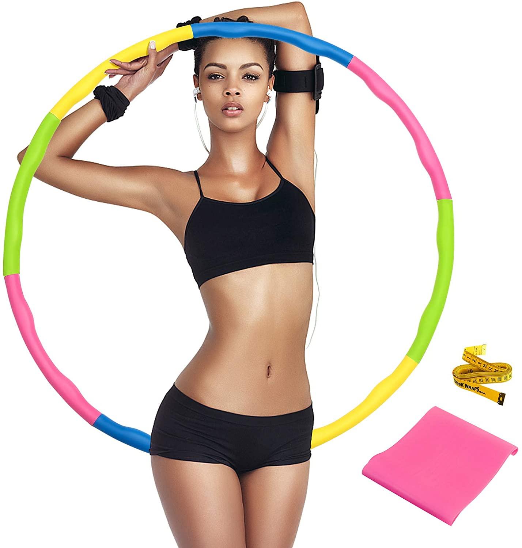 Bild zu SAFETYON Fitnessreifen (abnehmbar) mit Gummiband und Bandmaß für 23,09€