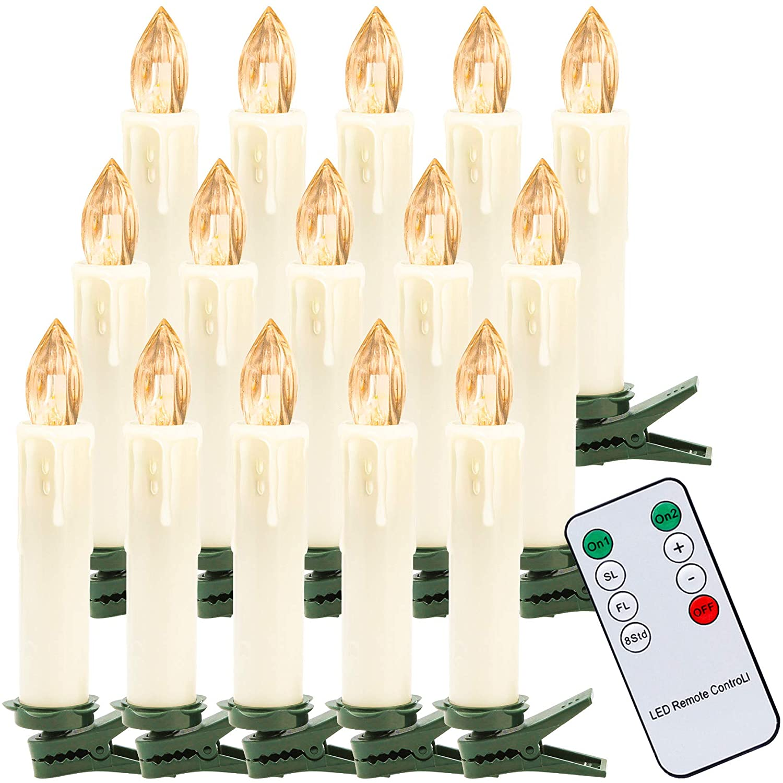 Bild zu 30% Rabatt auf kabellose Hengda LED-Weihnachtskerzen