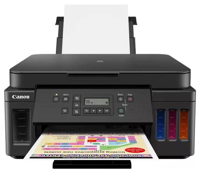 Bild zu CANON PIXMA G6050 Tintenstrahl Multifunktionsdrucker (WLAN, Netzwerkfähig) für 249€ (VG: 289€)