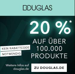 Bild zu Douglas: 20% Rabatt auf alle Produkte ab 49€ Bestellwert