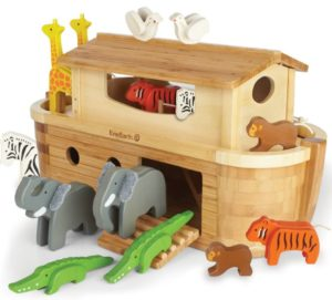 EverEarth Holzspielzeug-set große arche Noah