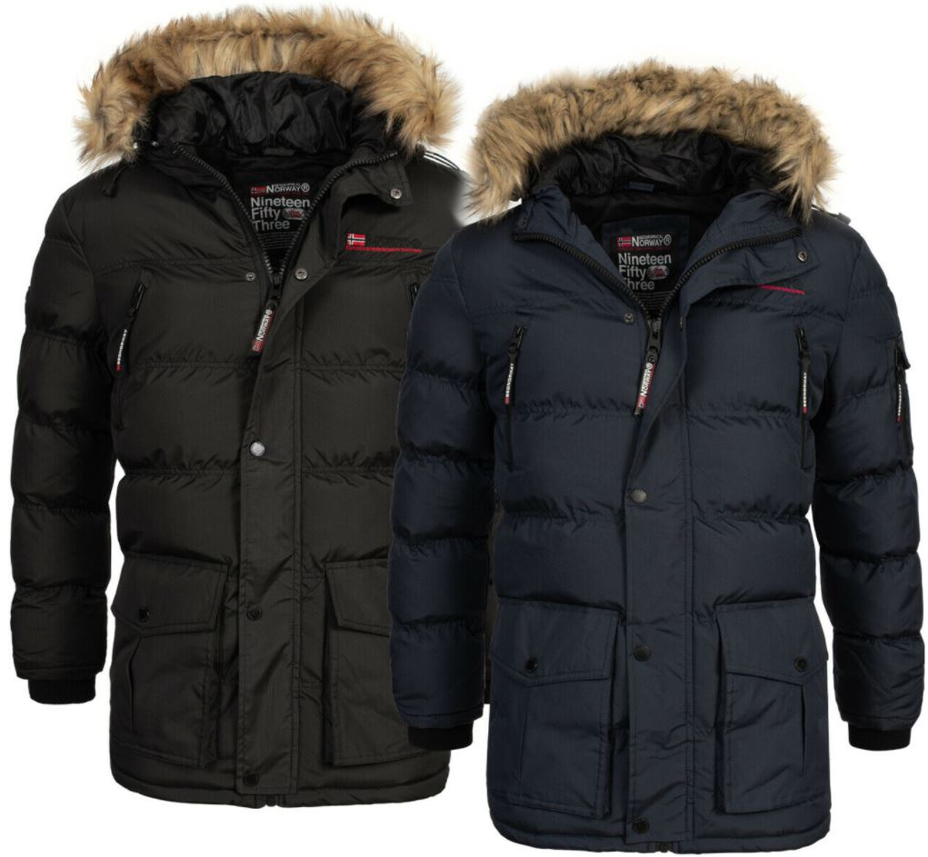 Bild zu Geographical Norway warme Herren Winter Jacke FVSG für 64,90€