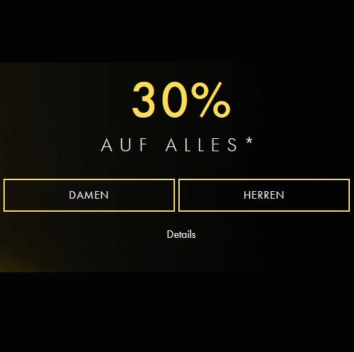 Bild zu [bis Mitternacht] Guess: 30% Rabatt auf viele Artikel im Shop + 10€ Extra ab 3. Artikeln