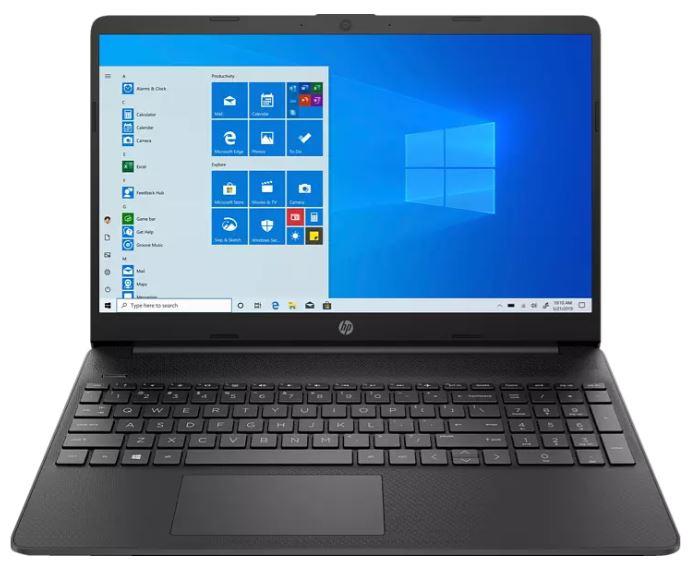 Bild zu HP 15s-eq0355ng Notebook mit 15,6 Zoll Display, Ryzen 5 Prozessor, 8 GB RAM, 512 GB SSD, AMD Radeon Vega 8, Schwarz für 291,47€ (VG: 599€)