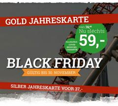 Bild zu Slagharen: Jahreskarte für 59€ inkl. 5 x Eintritt zum Movie Park, unbegrenzt zudem auch ins Bobbejaanland + Belantis