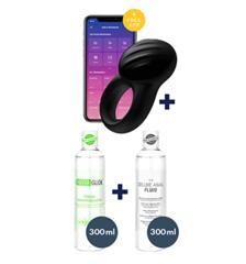 Bild zu Eis.de: Satisfyer Signet Ring (Penisring) + 2 Gleitgel + 6 Gratisartikel für 0€ (Mindestbestellwert 29,95€) – Vergleich: 39,89€