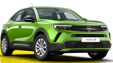 Bild zu Opel Mokka E Edition 5d für 135,50€/Monat (Laufzeit 36 Monate, 10.000km/Jahr, LF= 0,49)