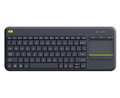 Bild zu Logitech K400 Plus TV-Tastatur mit Touchpad und 2.4 GHz Funk für 19,99€ (Vergleich: 24,92€)