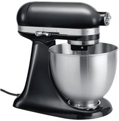 Bild zu KitchenAid Küchenmaschine 5KSM3311 Schwarz oder Rot 3,3l für je 287,56€ (Vergleich: 333€)