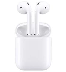 Bild zu [beendet] APPLE AirPods mit Ladecase (2. Generation) In-ear True-Wireless-Kopfhörer Bluetooth Weiß ab 99,17€ (Vergleich: 125,90€)