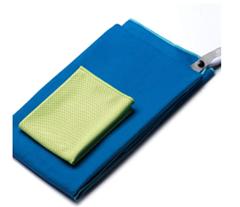 Bild zu [Prime] OriHea Mikrofaser Sporthandtuch mit Tasche 2er-Set (Schnelltrocknend, 180x80cm, 100x30cm) für 9,99€