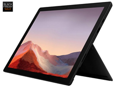 Bild zu [ausverkauft] Microsoft Surface Pro 7 – 16GB / 256GB i7 Schwarz Convertible Notebook inkl. Office-Microsoft 365 Single für 999€ (VG: 1.322,69€)