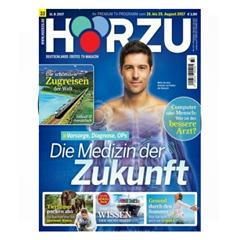 """Bild zu 52 Ausgaben der Zeitschrift """"Hörzu"""" für 124,80€ + 110€ Amazon Gutschein"""