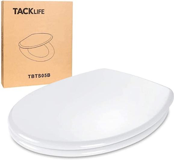 Bild zu Tacklife WC Sitz mit sanfter Absenkfunktion und Quick-Realse für 24,99€