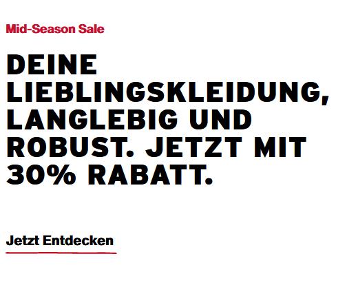 Bild zu Levis: 30% Rabatt auf viele ausgewählte Artikel im Sale