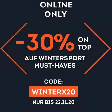 Bild zu SportScheck: Bis zu 30% Rabatt auf Wintersport Artikel