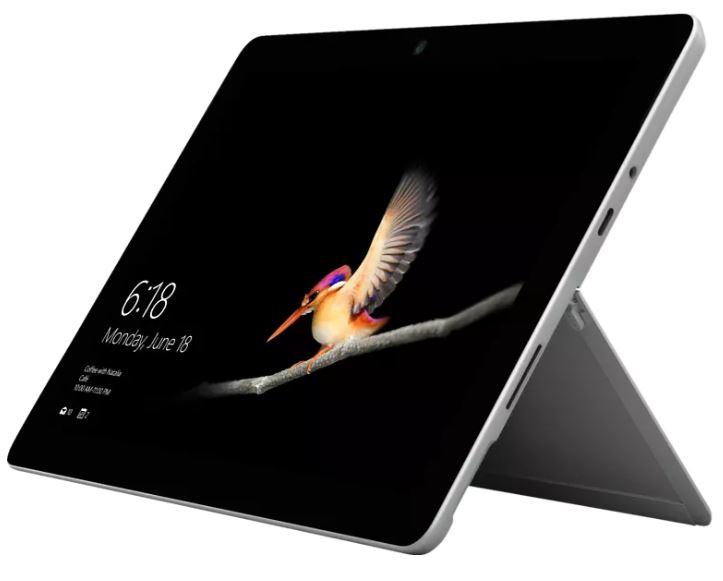 Bild zu MICROSOFT Surface Go 2, Tablet mit 10,5 Zoll Display, Pentium Gold Prozessor, 8 GB RAM, 128 GB SSD, Platin für 476,68€ (VG: 549€)