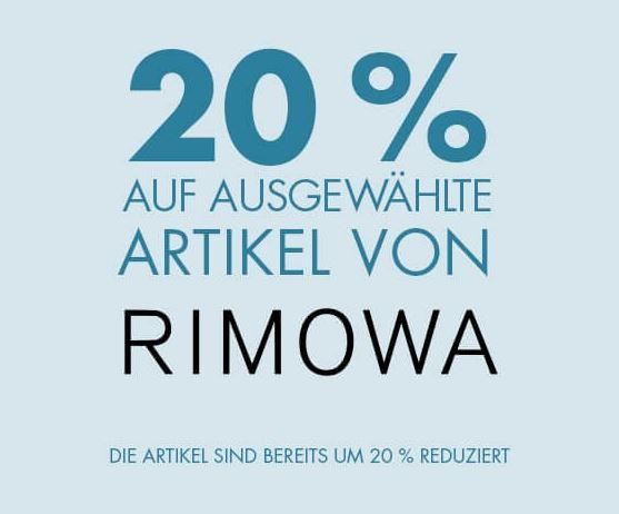 Bild zu GALERIA: 20% Rabatt auf ausgewählte Koffer von Rimowa
