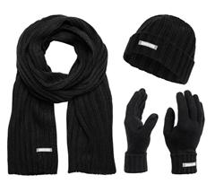Bild zu Lambretta Winterset Unisex Schal, Mütze und Handschuhe für 11,99€ (VG: 21,40€)