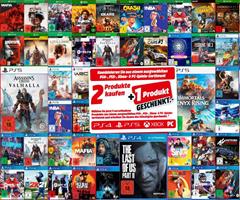 Bild zu [endet heute] MediaMarkt: 3 für 2 Aktion auf Games (für PS5, PS4, Xbox und PC)