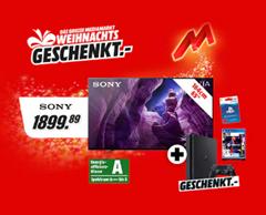 Bild zu Sony KD 65A8 (65 Zoll) 4K OLED TV inkl. PS4 + Fifa 21 + 100€ PS4 Guthaben für 1.929,79€ (Vergleich: 2.529,20€)