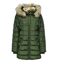 Bild zu Only Onlcamilla Hood Fur Coat Otw Damen Parka für je 44,99€ (Vergleich: 77,40€)