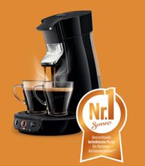 Bild zu Philips Senseo Viva Café HD6561/68 Kaffeepadmaschine ab 46,99€ (Vergleich: 69,99€) + Cashback für max. 200 Pads