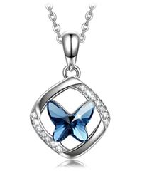 Bild zu Sellot Halskette Schmetterlingstraum Serie (Kristall von Swarovski) für 11,99€
