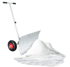 Bild zu wolketon Schneeschaufel mit Rädern – 5-fach Höhenverstellbar für 37,09€
