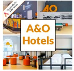 Bild zu Animod: A&O Hotelgutschein ab 19,99 pro Person/Nacht inkl. Frühstück
