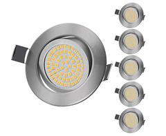 Bild zu KINGSO LED Einbaustrahler Flach 5W Schwenkbar für 23,09€