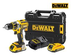 Bild zu DeWalt DCD790D2 Kombibohrer 18 V inkl. 2x 2,0-Ah-Akku für 165,90€ (Vergleich: 185,63€)
