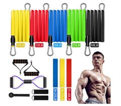 Bild zu JOYXEON Fitnessbänder Set 15-teilig für 16,24€