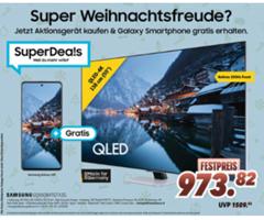Bild zu Samsung GQ55Q84T – 55 Zoll QLED UHD Fernseher (Modell 2020) für 973,82€ (Vergleich: 1.098,99€) + gratis Galaxy A51 (Wert 229,90€)
