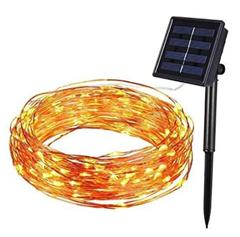 Bild zu 40% Rabatt auf Hengda Solar Lichterkette für Außen, so z.B. 20M 200 LED 8 Modi für 8,99€