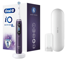 Bild zu Amazon.fr: Oral-B iO Series 8 Sonder-Edition Violet Ametrine elektrische Zahnbürste für 140,13€ (Vergleich: 184,99€)