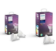 Bild zu Philips Hue GU10 (neuste Version) im 3er Pack für 91,23€