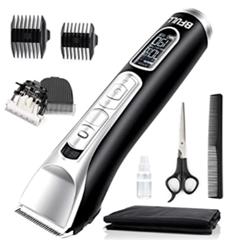 Bild zu BFULL Akku Haarschneider mit LED Anzeige für 24,99€