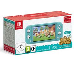 Bild zu [geht noch] Nintendo Switch Lite türkis inkl. Animal Crossing: New Horizons inkl. 3 Monate Onlinemitgliedschaft für 197,92€ (VG: 222,98€)