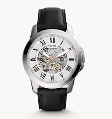 Bild zu Fossil Grant Automatik Herrenuhr mit Leder-Armband für 139€ (Vergleich: 189,25€)