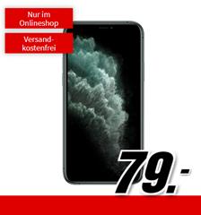 Bild zu APPLE iPhone 11 Pro (nachtgrün) für 79€ (Vergleich: 867€) mit Vodafone Allnet Flat, SMS Flat und 40GB LTE Datenflat für 39,99€/Monat