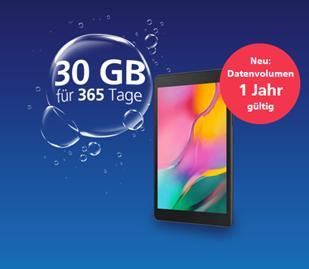Bild zu Samsung Tab A 8.0 LTE Version + O2 my Prepaid Internet-to-go (30GB für 1 Jahr) für 169€ (VG: Tab = 171,69€)