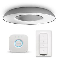 Bild zu Philips Hue White Ambiance Still Bluetooth Aluminium Deckenlampe + Hue Bridge für 123,94€ (Vergleich: 183,46€)