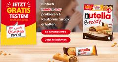 Bild zu nutella B-ready gratis testen
