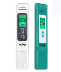Bild zu pH Messgerät (4 in 1 Set) mit LCD Display für 11,29€