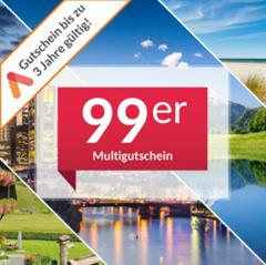 Bild zu Animod 99ers: Multi-Hotelgutschein für über 100 Hotels für 3 Tage (2 Übernachtungen) für 2 Personen für 89,10€
