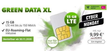 Bild zu [endet heute] 15GB LTE Datenflat im Telekom Netz für 9,99€/Monat