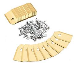 Bild zu Charminer 30 Stück Titan Messer Klingen Ersatzmesser geeignet für alle Husqvarna® Automower® / Gardena® Mähroboter für 3,99€