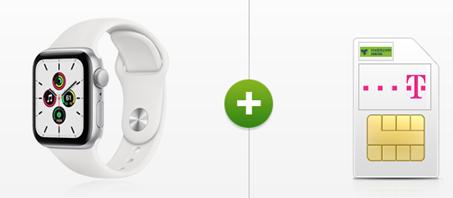 Bild zu Apple Watch SE (oder andere Prämien) für 69€ mit 18GB LTE Datenflat, SMS und Sprachflat im Telekom Netz für 19,99€/Monat